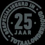 25 jaar gespecialiseerde Schilder grijs