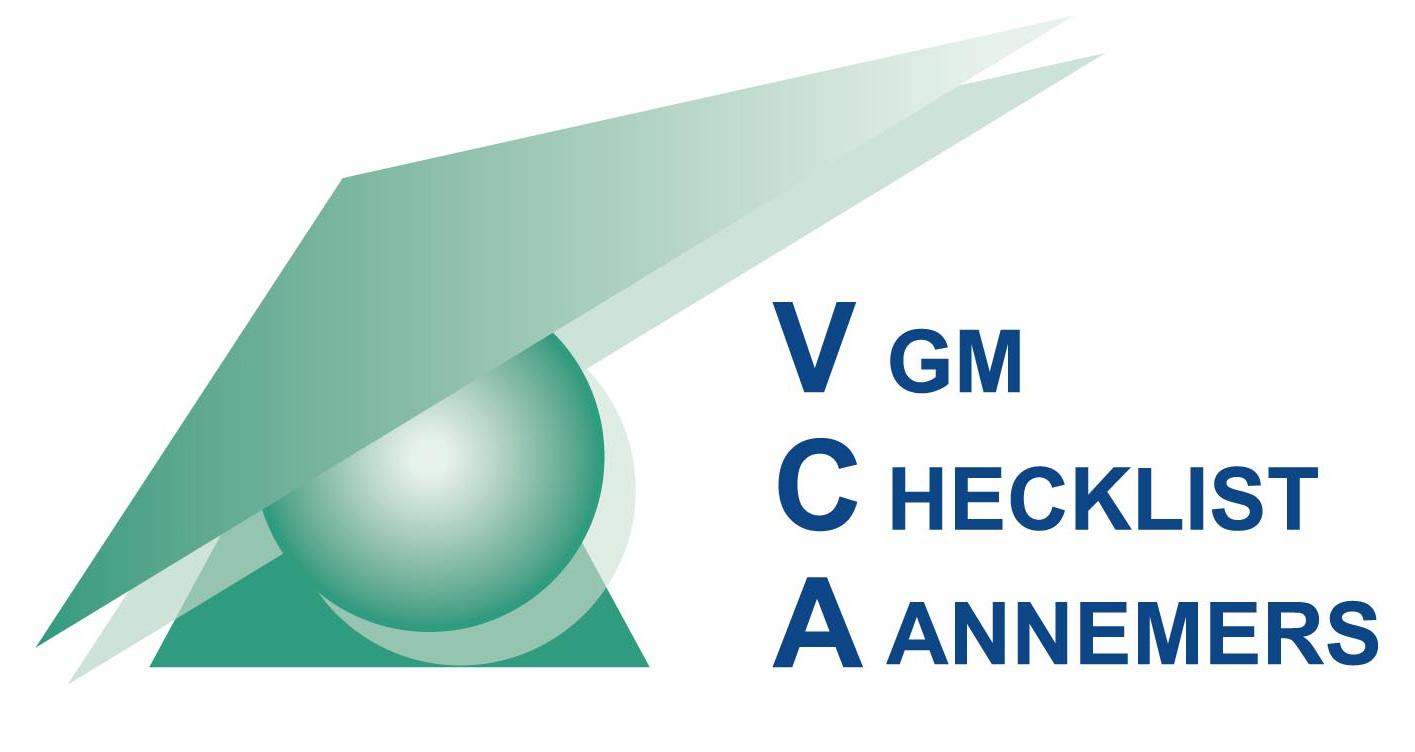VCA VGM Checklist Aannemers logo