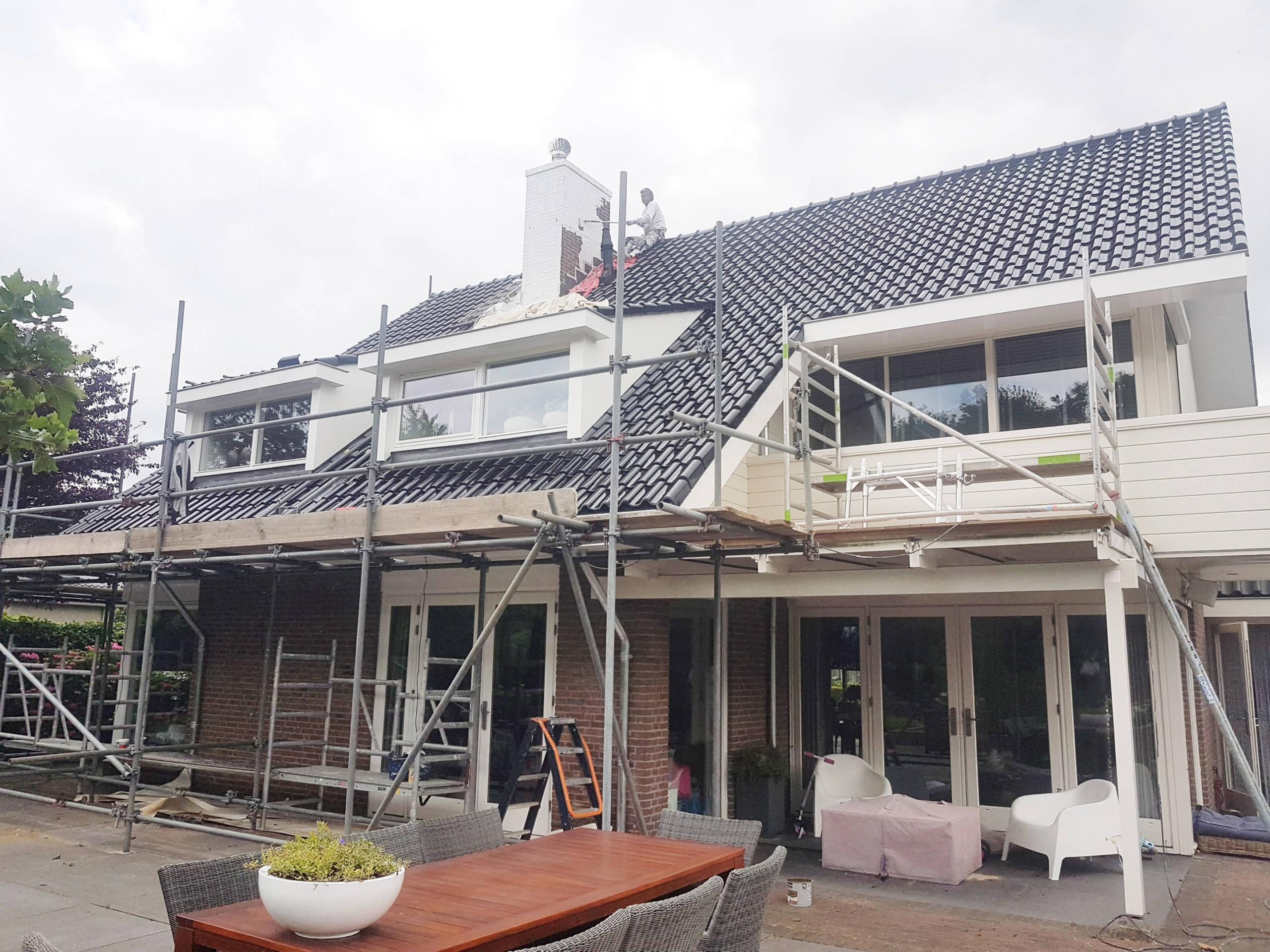 Schilderen, Bouw en Timmerwerk woonhuis