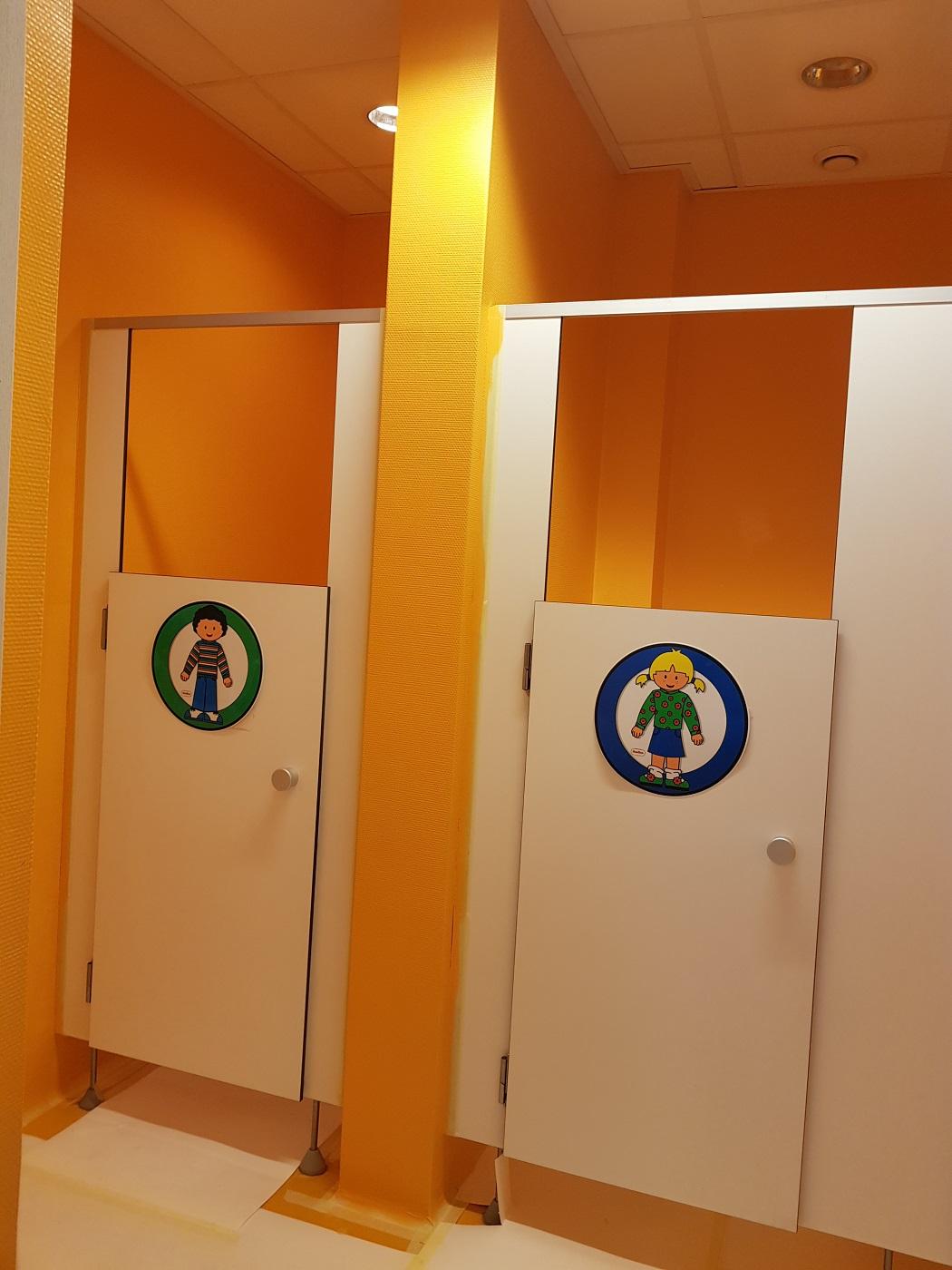 School Onderhoud toiletten